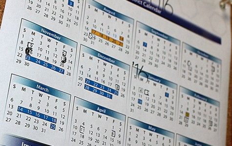 Administrators Approve New 2016-2017 Calendar
