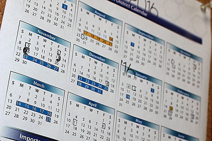 Administrators Approve New 2016-2017 Calendar