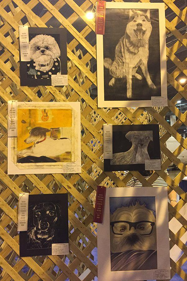 Dog Show Art Competition