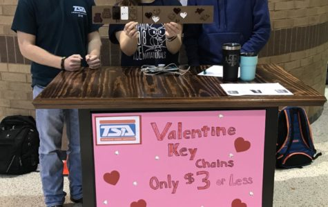 TSA Selling Their Valentine Gifts During Lunch
