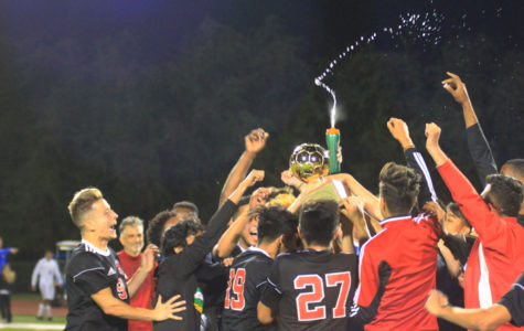 Boys Soccer Wins District Title