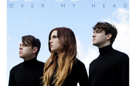 Bandmates and siblings Sydney, Noah, and Graham on the cover of their new single