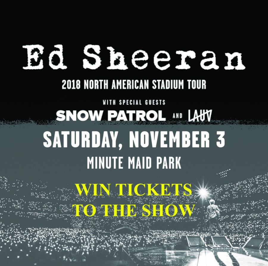 Ed Sheeran Concert Tickets Drawing Rules & Info