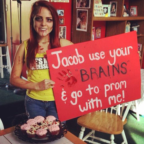 An example of past fun Hoco proposals highlighted online.