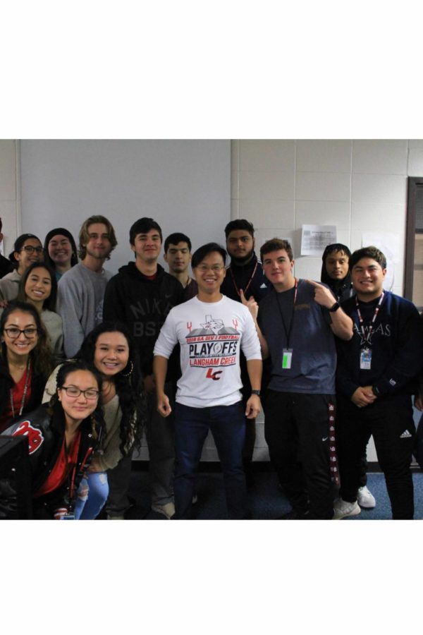 Mr. Bui and his second period class.